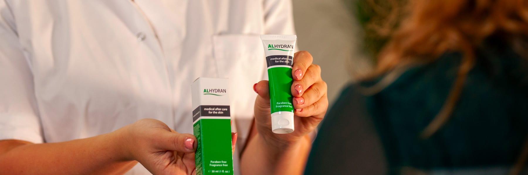 ALHYDRAN merk header BAP Medicalkopie